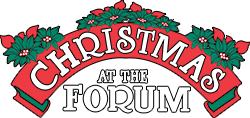 Christmas At The Forum Logo